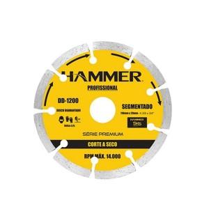 Disco Diamantado 110mm Segmentado Seco - Hammer