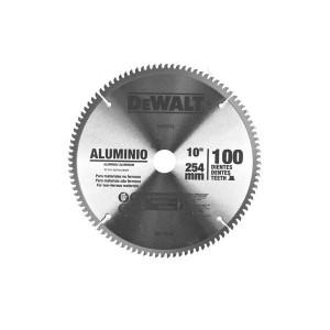 Disco de Corte 10 Pol. para Alumínio/Madeira 100 D - Dewalt
