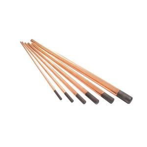 Eletrodo de Carvão de 6.3mm 1/4 x 12 Pol. - Carbografite