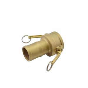 Acoplador Espigão 101.6mm 4 x 3 Pol em Latão ERT-DER