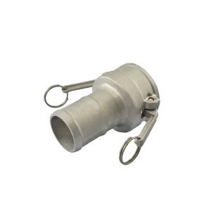 Acoplador Espigão 19.0mm 3/4 Pol em Alumínio ERT-C