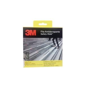 Fita Antiderrapante 50mm x 20m Transparente - 3M