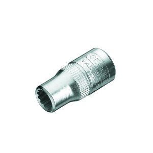 Soquete Estriado 13mm Encaixe 1/4 Pol. - Gedore