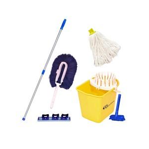 Kit Mopinho para Limpeza Amarelo NY05AM - Bralimpia