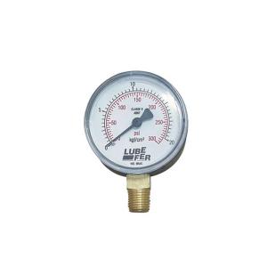 Manômetro para Acetileno 60mm - 2.5kg LUB-38A - Lubefer
