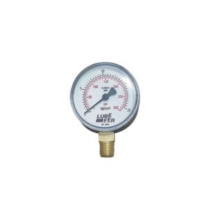 Manômetro Saída Vertical 60mm de 60 LBS - Lubefer