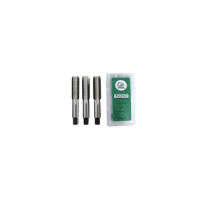 Machos Manuais Aço Liga 3.2mm 1/8 Pol 3 Peças - UNF - Warrior