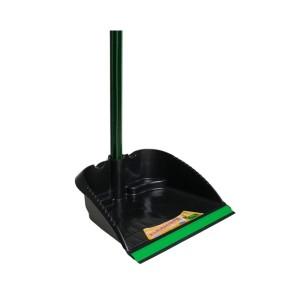 Pá Lixo Plástica Pequena Cabo Madeira 0.90m
