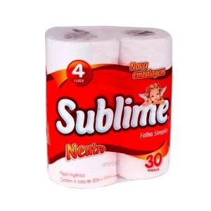 Papel higienico branco (04 rls)