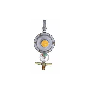 Registro Regulador para Gás 3/8 Pol 506 Manômetro - Aliança