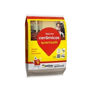 Rejunte Preto 5kg Quartzolit
