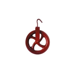 Roldana para Poço Ferro Fundido 12cm - Tenance