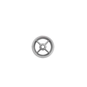 Aro Alumínio 6 Pol para Pneu 3.25 x 6 Bucha 7/8 Pol