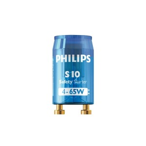 Starter de Plastico para Lampada fluor 30/40/65w Philips