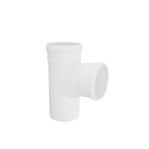 Tê PVC para Esgoto 40mm Branco - Tigre